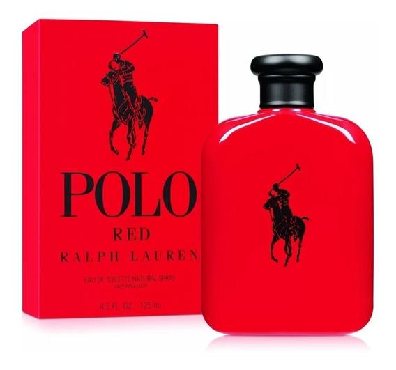 Perfume Polo Red Ralph Lauren Edt Masculino 125ml | Original
