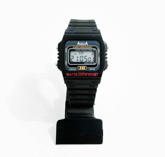 Relógio Aqua Aq-37 ( Resistente À Água )