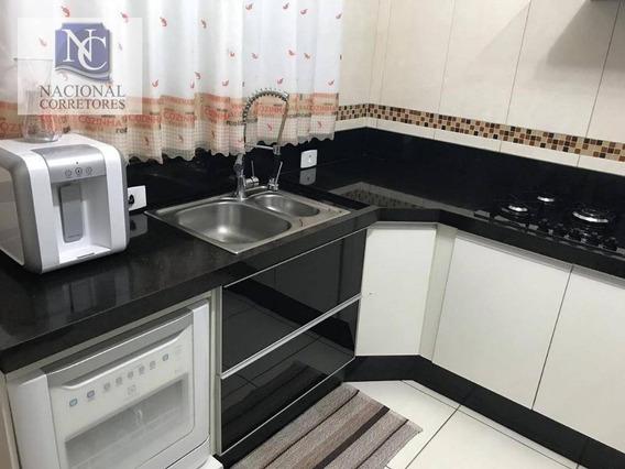Sobrado Com 2 Dormitórios À Venda, 88 M² Por R$ 349.000,00 - Parque Oratório - Santo André/sp - So3257