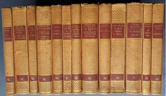 Clássicos Da Literatura Brasileira - Ficção Nacional-13 Vol.