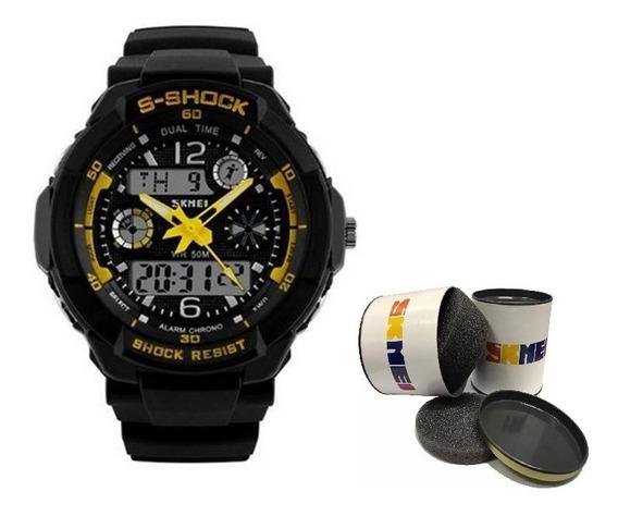 Relógio G Sport Shock Digital A Prova D´água Original Dj0057