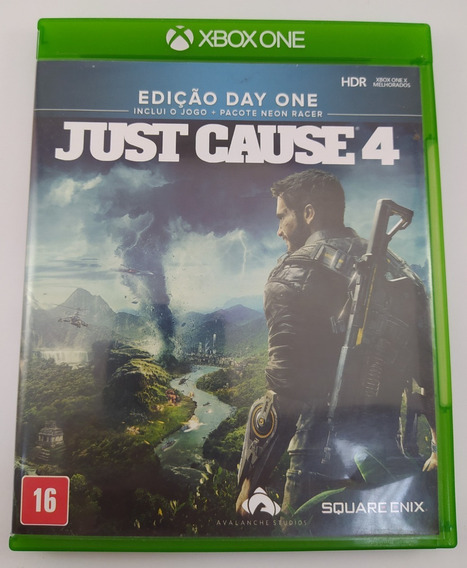 Just Cause 4 Xbox One Mídia Física Usado