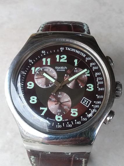 Relogio Swatch Cronograph Bem Grande