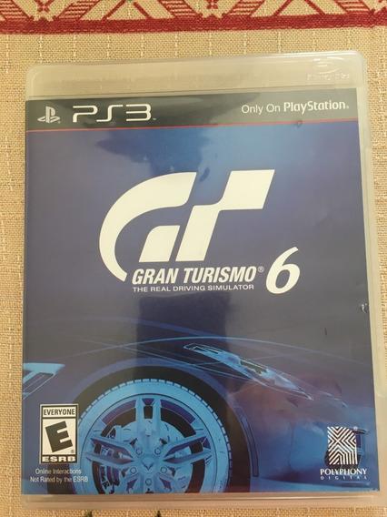 Gran Turismo 6 - Ps3 - Usado - Midia Original
