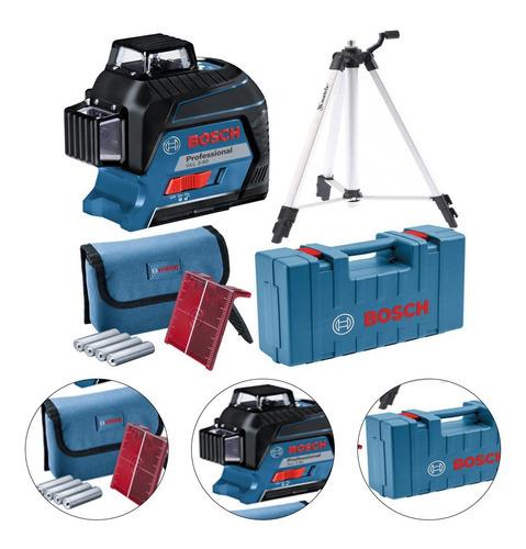 Imagem 1 de 8 de Nível Laser De Linhas Profissional Bosch - Gll 3-80 0601063s