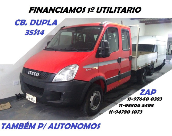Iveco 35s14 Ano 2013 Cab Dupla