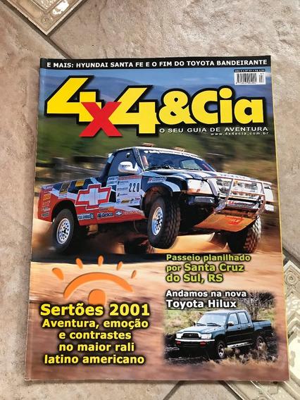 Revista 4x4 E Cia 97 Toyota Hilux Sertões 2001 Santa Fe