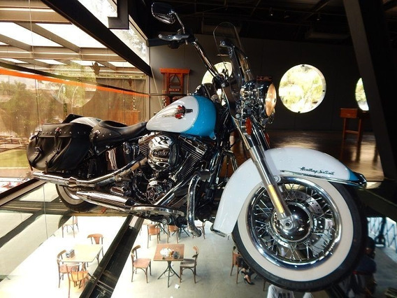 Harley-davidson Heritage Softail Classic 2017 Azul