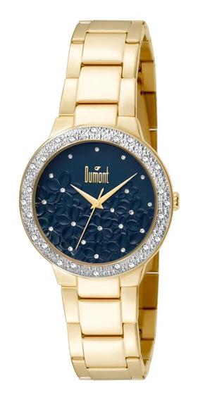 Relógio Dumont Splendore Feminino Du2039ltu/4a - Dourado