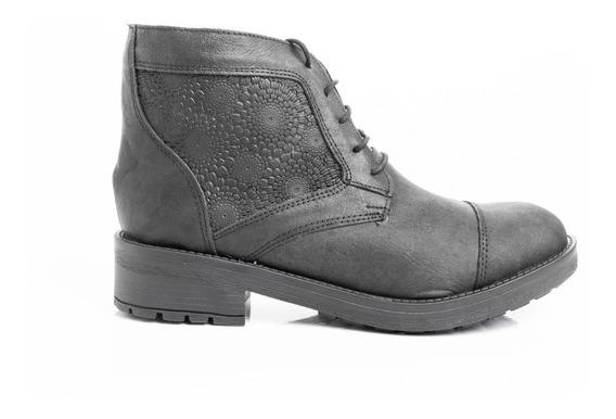 Borcegos Zapatos Mujer Botinetas Botitas Cuero Comfort