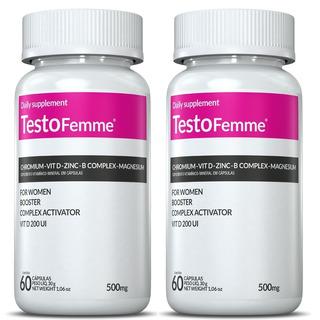2x Testofemme 60 Caps Inove Nutrition