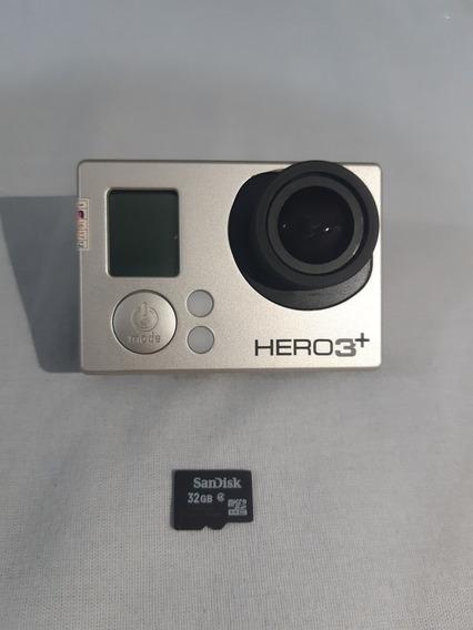 Kit Gopro Hero 3+ Baterias Extras, Cartão De Memória 32g