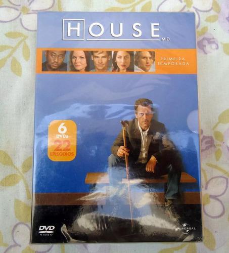Dvd Box House Primeira Temporada Completa - Lacrado