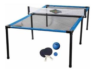 Mesa De Ping Pong Portátil Incluye 2 Raquetas Y Pelota