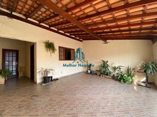 Imagem 1 de 12 de Casa Com 3 Dorms, Parque Manoel De Vasconcelos, Sumaré - R$ 269 Mil, Cod: Ca1143 - Vca1143