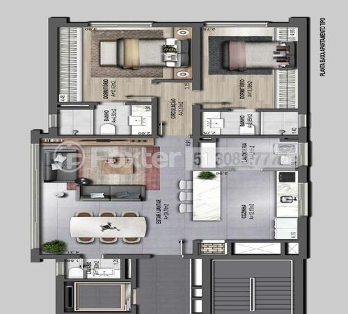 Imagem 1 de 8 de Apartamento, 2 Dormitórios, 110.32 M², Petrópolis - 179160
