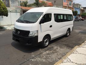 Nissan Urvan,nv350,2018,amplia,ventanas,factura Original.