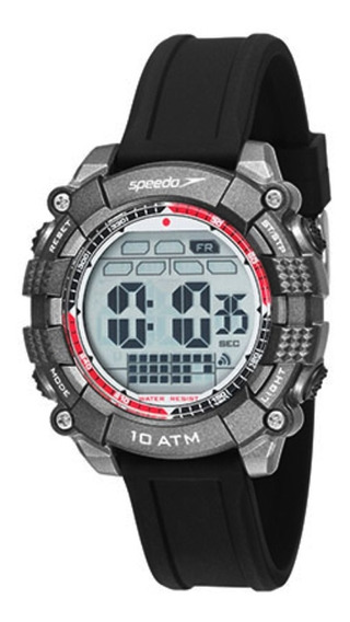 Relógio Masculino Speedo Digital 80639g0evnp1 - Preto