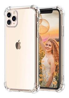 Funda Tpu Reforzada Transparente iPhone 11 11 Pro 11 Pro Max