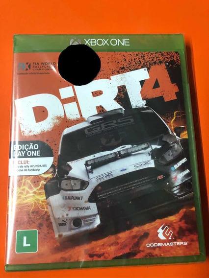 Dirt 4 Xbox One Mídia Física Novo Lacrado