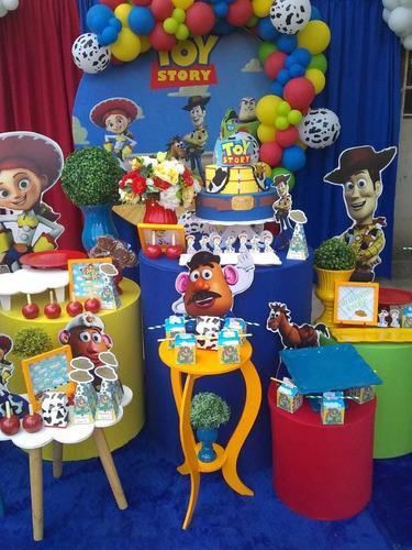 Decoração De Festa Tema Toy Story  Premium (bh E Região)