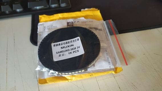 Led Smd Samsung 2828 Kit 100un 3v/150lm/280w P/reparação De Barras.