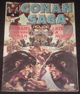 Hq Conan Saga Nº 4 - Ed. Abril - 1993