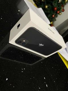iPhone 11 64gb Preto + Capa Original E Película 5d