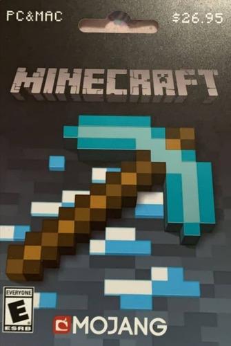 Tarjeta De Minecraft Para Instalar