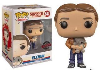 Funko Pop Eleven (with Bear) Stranger Things Season3