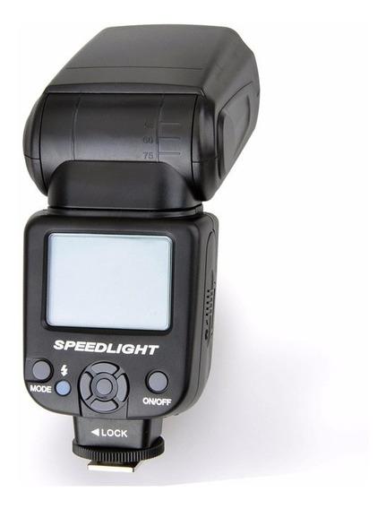 Flash Para Canon Triopo Tr950 80d 70d 60d 7d 5d 6d T3