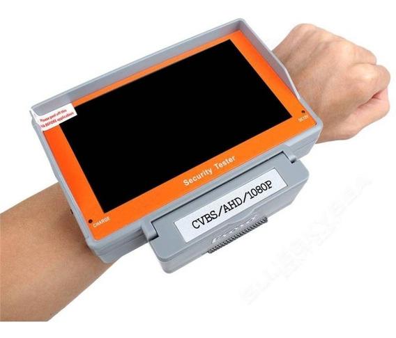 Monitor 5.0 Tester Camera Testador 4 Em 1 Cvbs/ahd/tvi/cvi