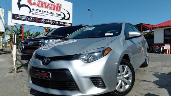 Toyota Corolla Gris 2016