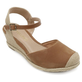 03dc5533a3 Anabela Via Uno Espadrille - Sapatos no Mercado Livre Brasil