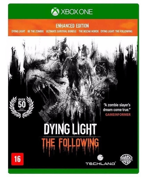 Dying Light Following Enhanced Xbox One Fisica Lacrado Nfe