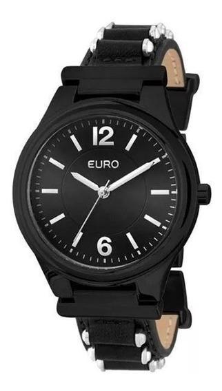 Relógio Feminino Euro Original Na Caixa Lacrada Eu2035ykw/2p