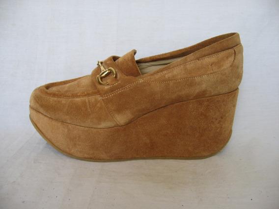 Zapato Maria Cher, Mocasín Gamusa, N|