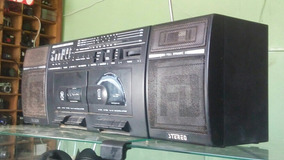 Radio Gravador K7 Duplo Internatiobal 9000s