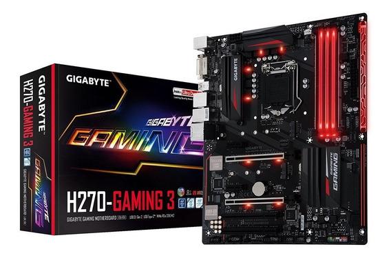 Placa Mae Gigabyte Ga-h270 Gaming 3 + I57400