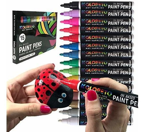 Rotuladores De Pintura Al Oleo Para Pintura De Rocas Rotulad