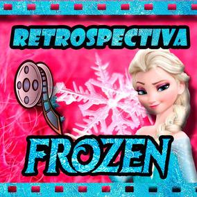 Álbum Digital Em Vídeo Tema Frozen Envio Por E-mail