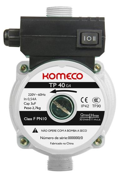 Minibomba Agua Tp40 G4 127v 60hz - Komeco