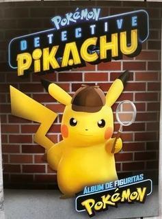 Pokemon Detective Pikachu - Álbum De Figuritas