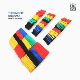 Oe53 Aislante Thermofit 8 Diferentes Tamaños 328 Pzas Color