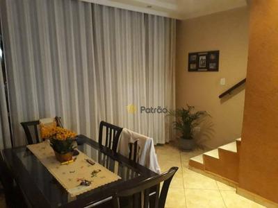 Sobrado Com 4 Dormitórios Sendo 1 Suíte À Venda - Planalto - São Bernardo Do Campo/sp - So0780