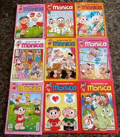 Kit Almanaque Da Mônica (9 Edições)