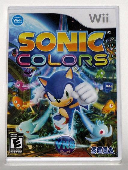 Sonic Colors - Original - Novo - Wii - Lacrado