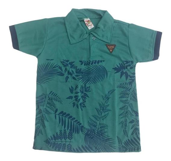 04 Blusa Camiseta Camisa Polo Menino Infantil Masculina