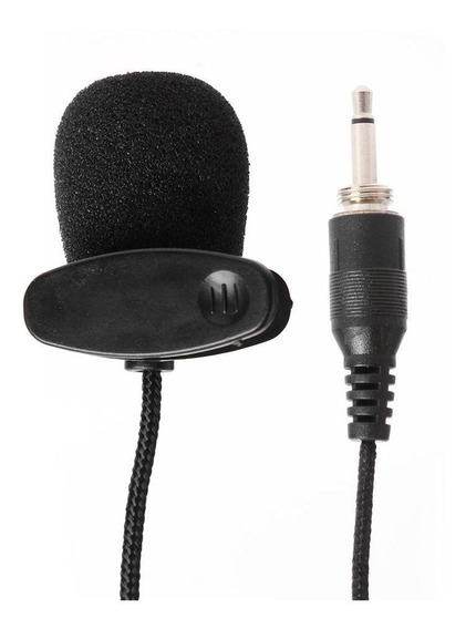 Mini Condensador Portátil De Microfone De Lavalier Externo D