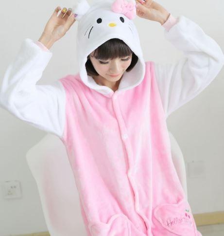 3a828a3501b6f0 Pijamas De Animais Imperdível Macacão Kigurumi